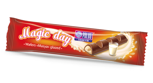 Gaufrettes «Magic day»